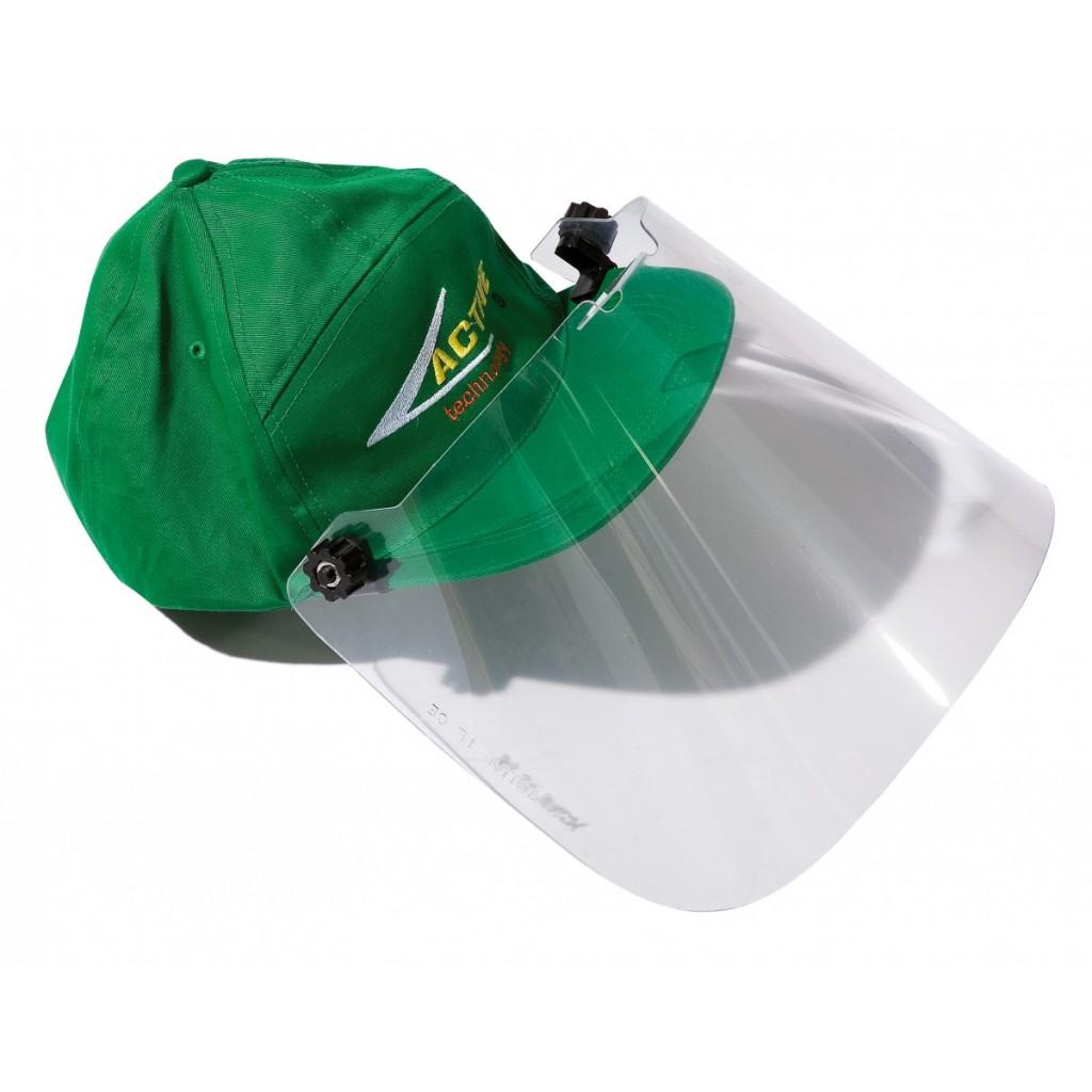Cappellino con visiera di protezione active s r l for Cappellino con visiera